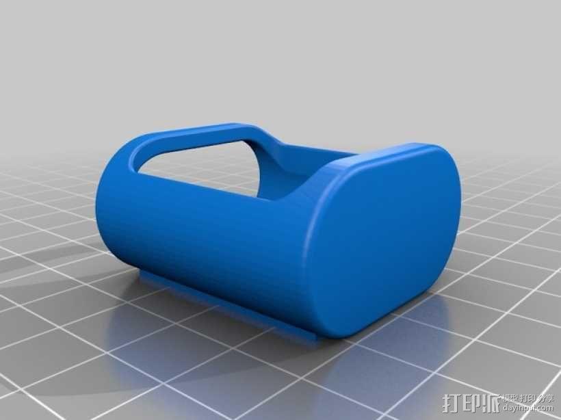 壁挂式遥控开关架 3D模型  图5