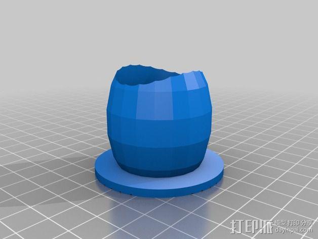 高露洁360电动牙刷架 3D模型  图2