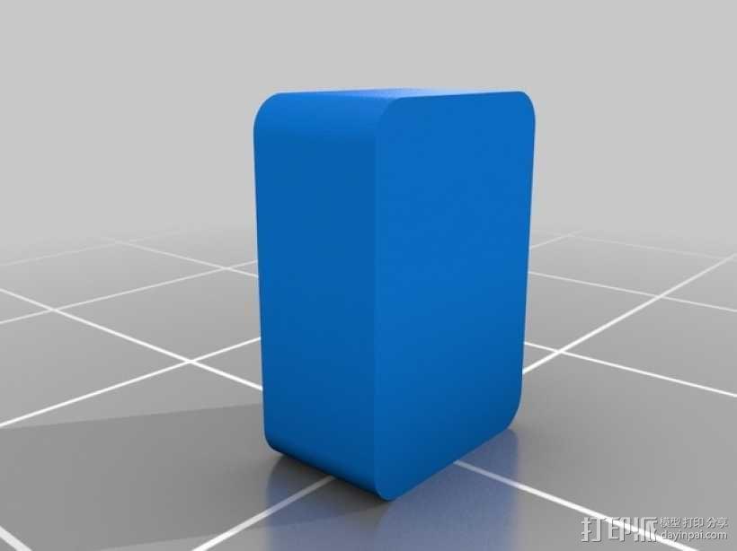 肥皂盒 3D模型  图2