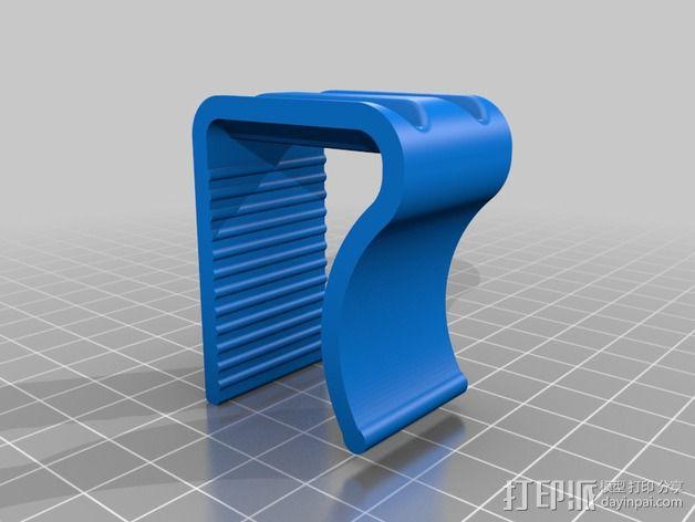 桌布夹 3D模型  图3