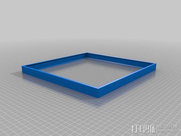 周工作计划框架 3D模型  图2