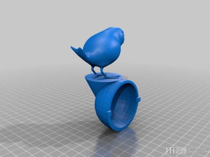 鹪鹩小夜灯 3D模型  图2