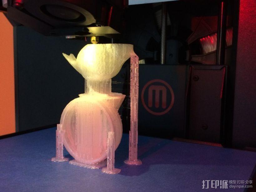 鹪鹩小夜灯 3D模型  图5