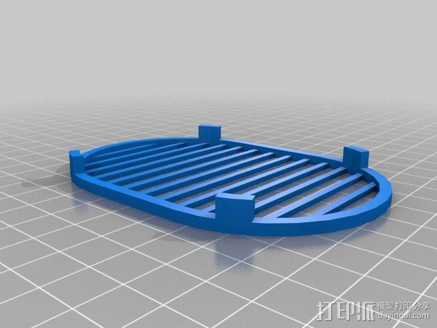 定制化肥皂架 3D模型  图2