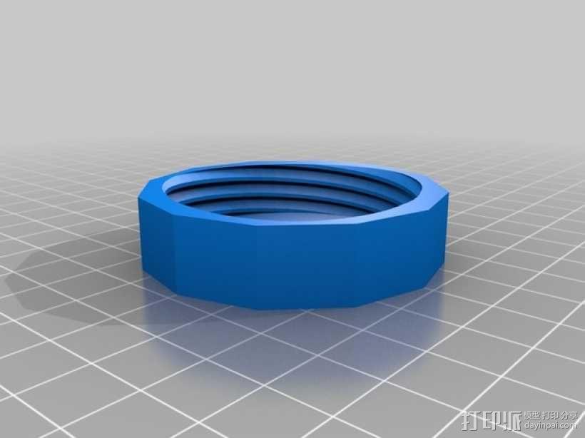 5升PET瓶盖 3D模型  图1