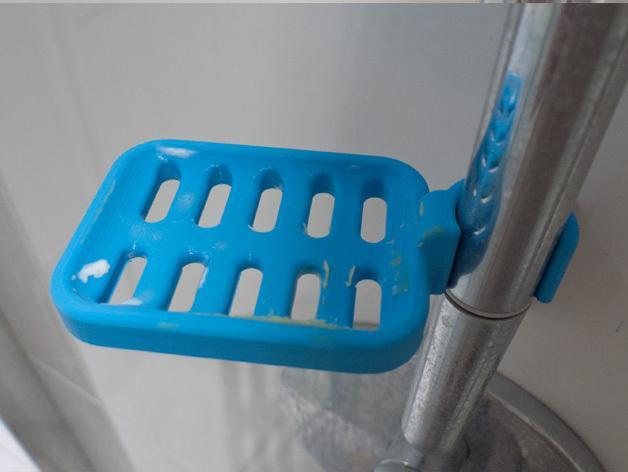 壁挂式肥皂架 3D模型  图4