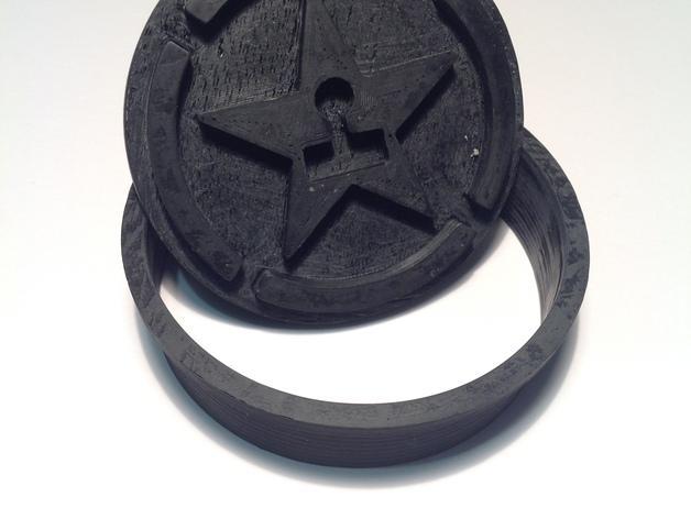 《Achievement Hunter》游戏标志饼干模具切割刀 3D模型  图2