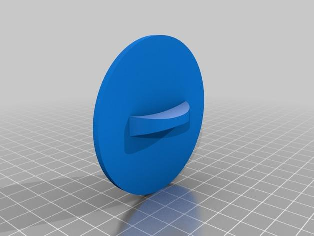 《Achievement Hunter》游戏标志饼干模具切割刀 3D模型  图5