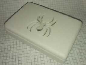蜘蛛形肥皂盒 3D模型