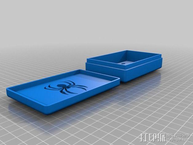 蜘蛛形肥皂盒 3D模型  图4