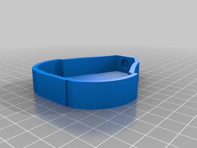 吉他形小盒 3D模型  图2