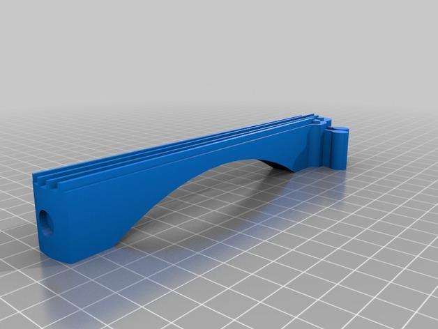 吉他形小盒 3D模型  图3