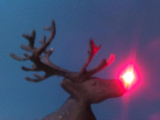 麋鹿雪橇形LED灯 3D模型  图4