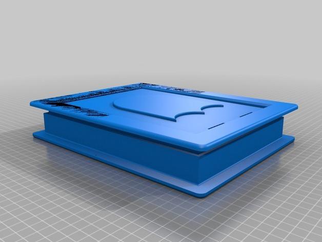 3D打印宠物门 3D模型  图2