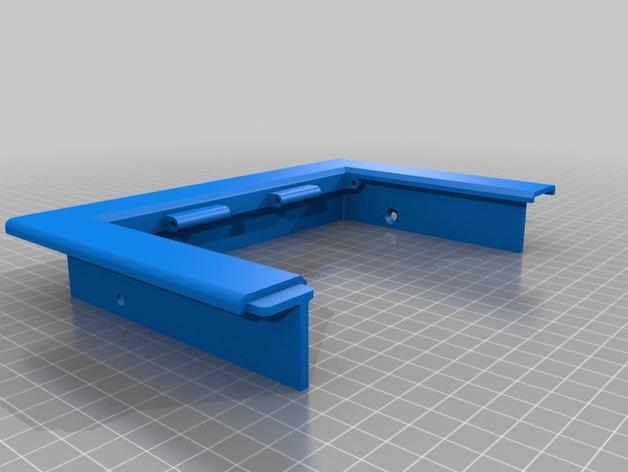 3D打印宠物门 3D模型  图4