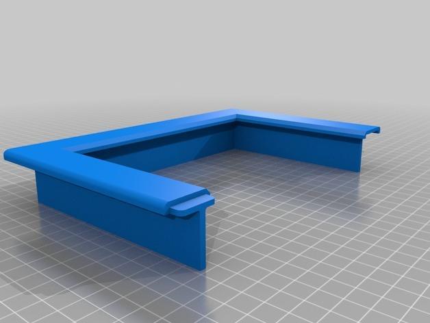 3D打印宠物门 3D模型  图6