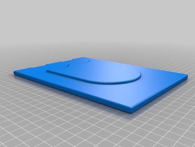 3D打印宠物门 3D模型  图5