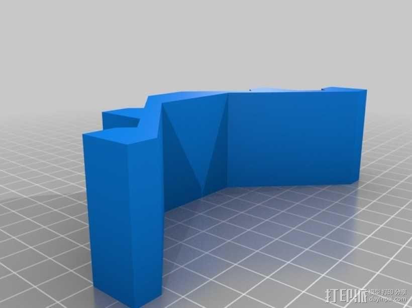 U盘架 3D模型  图2