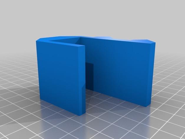 壁挂式U盘架 3D模型  图2