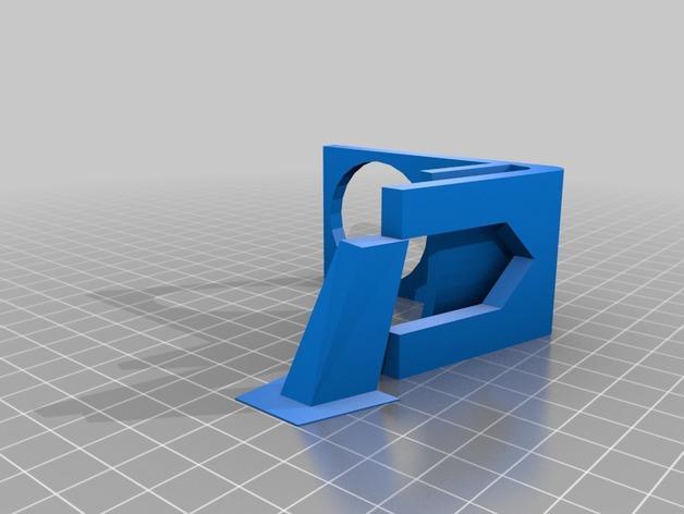 马丁尼酒杯支架 3D模型  图2