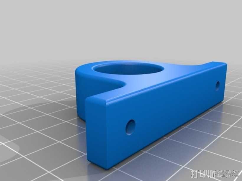 磁力钥匙架 3D模型  图2