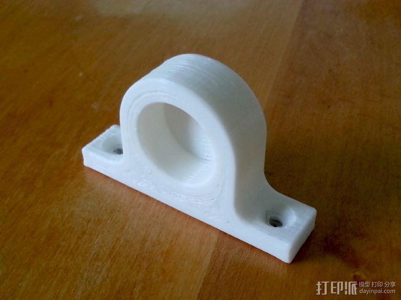 磁力钥匙架 3D模型  图3