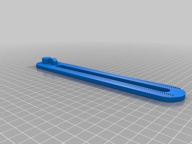 窗户玻璃支架 3D模型  图5