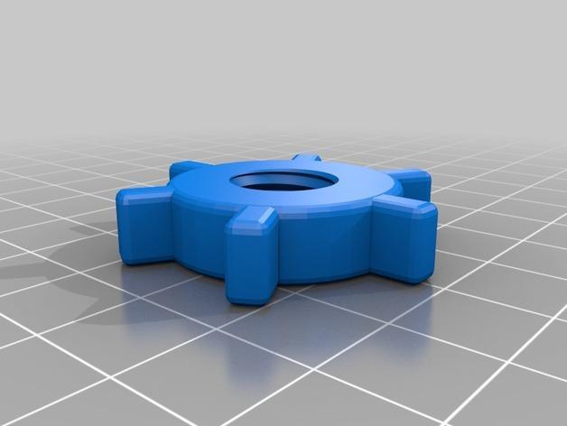 窗户玻璃支架 3D模型  图4