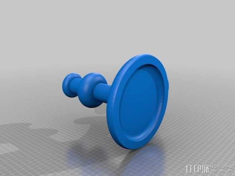 蜡烛台 3D模型  图4