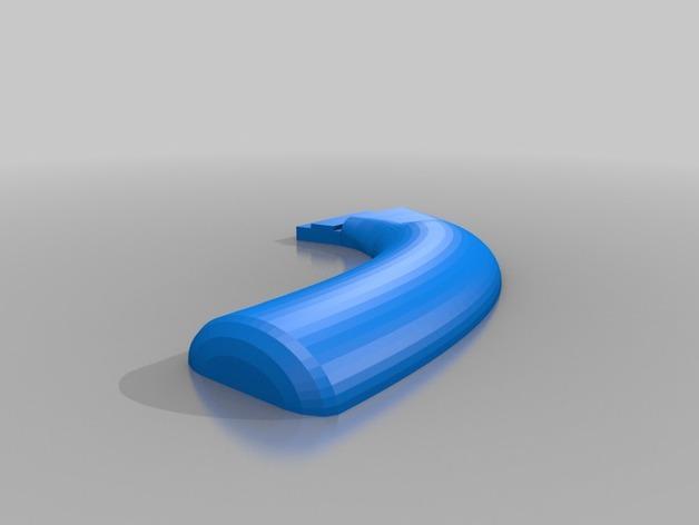 摩卡咖啡壶把手 3D模型  图3