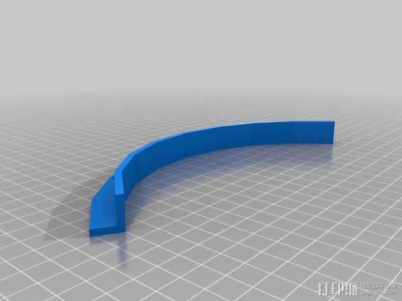 办公室隔间盆栽架 3D模型  图7
