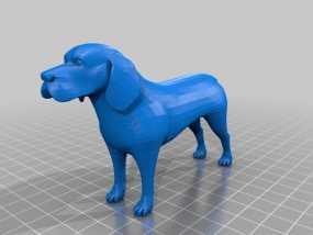 比格犬 3D模型