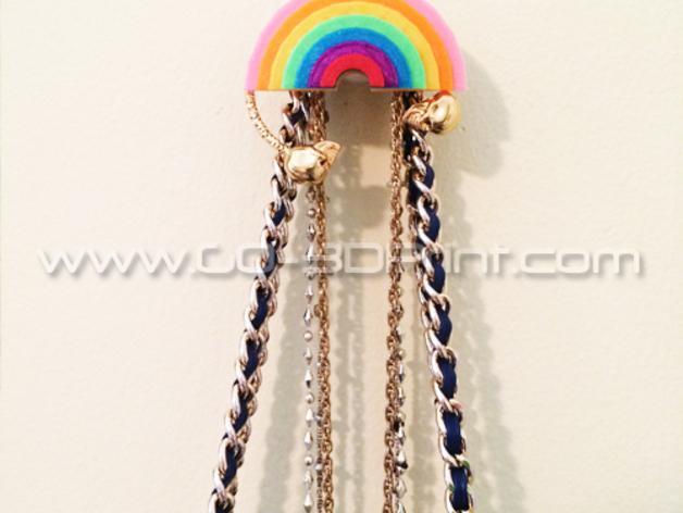 彩虹形珠宝架 3D模型  图3