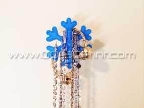 雪花形珠宝架 3D模型