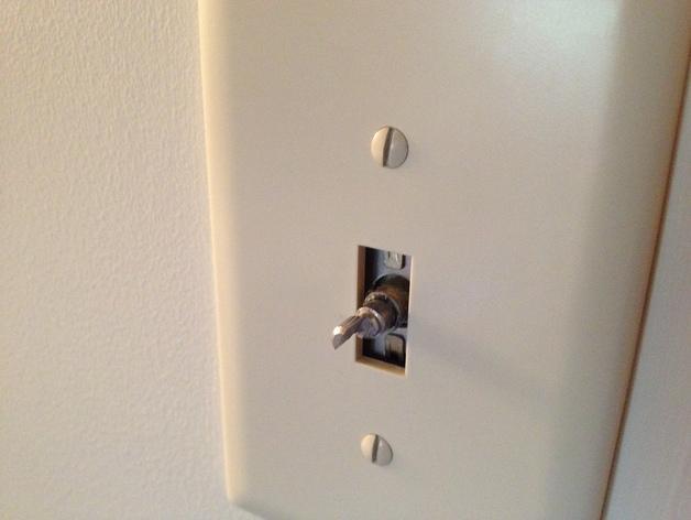 灯开关遮光按钮 3D模型  图2