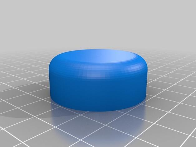 灯开关遮光按钮 3D模型  图3