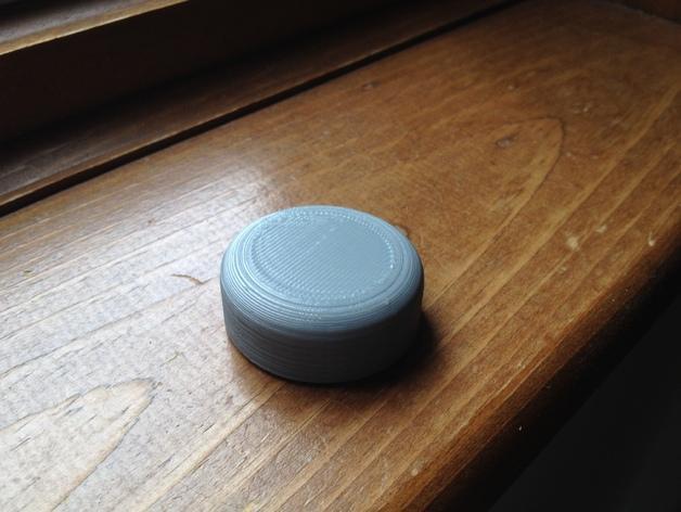 灯开关遮光按钮 3D模型  图5