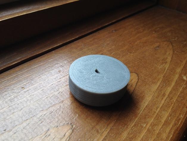 灯开关遮光按钮 3D模型  图4