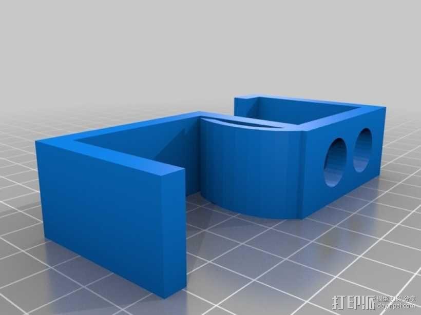 书桌耳机架 3D模型  图2