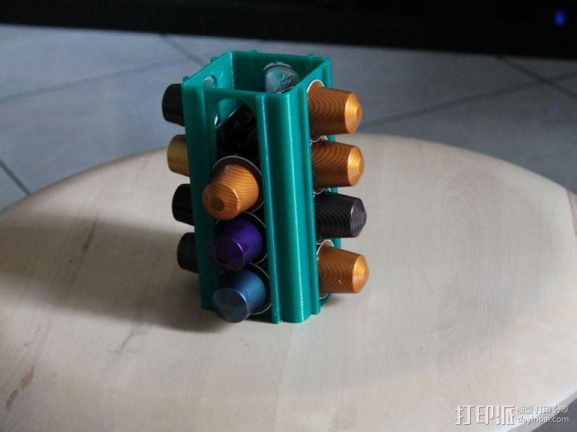 雀巢胶囊咖啡架 3D模型  图1