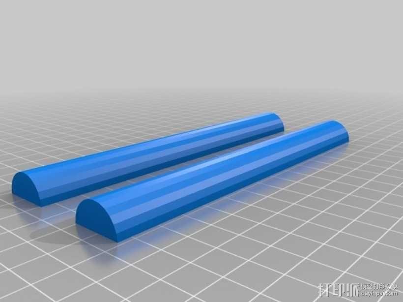 厕纸架 3D模型  图4