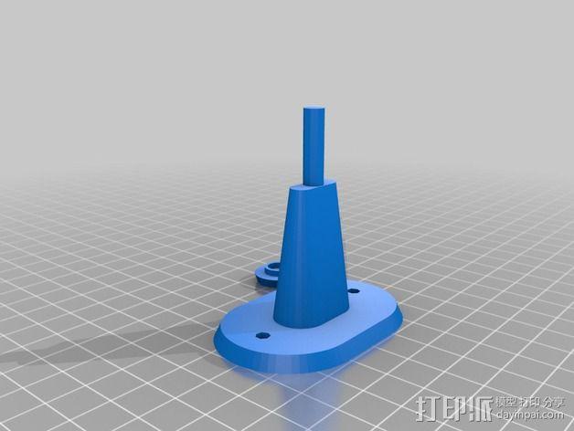 迷你雨水测量指示器 3D模型  图12