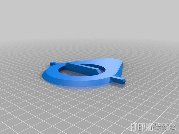 迷你雨水测量指示器 3D模型  图13