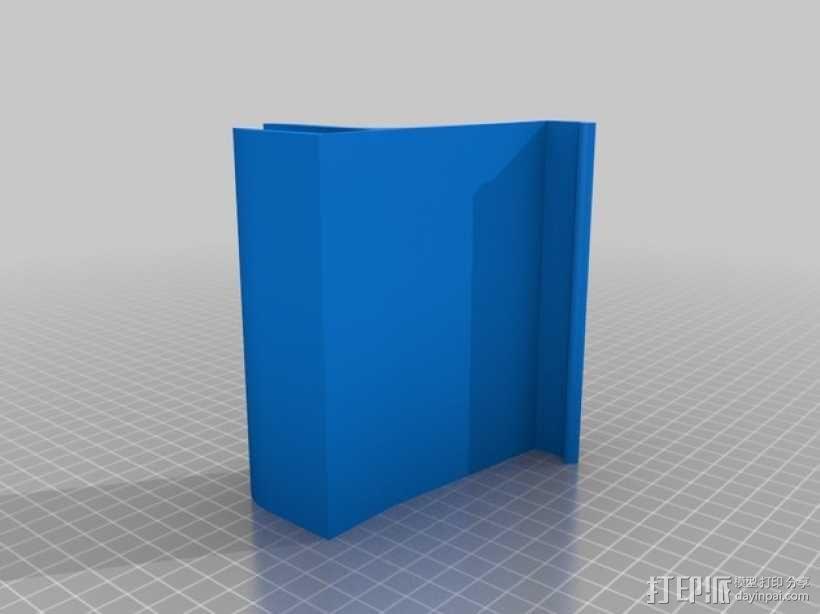 宜家厨房橱柜手机架 3D模型  图2