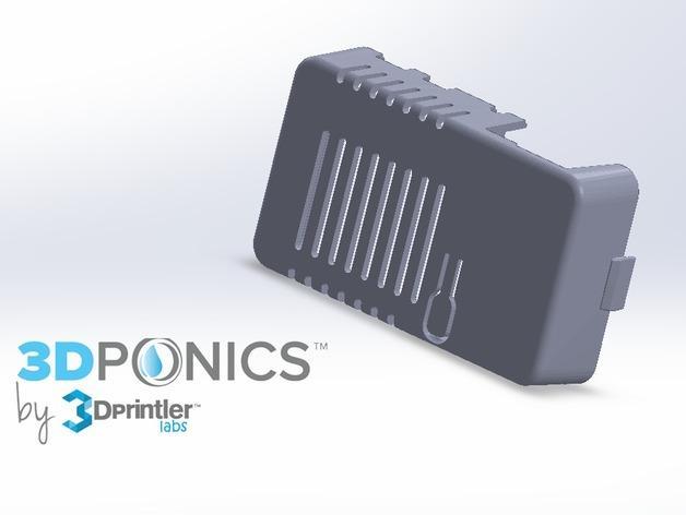网络连接Odroid U3盒外壳 3D模型  图2