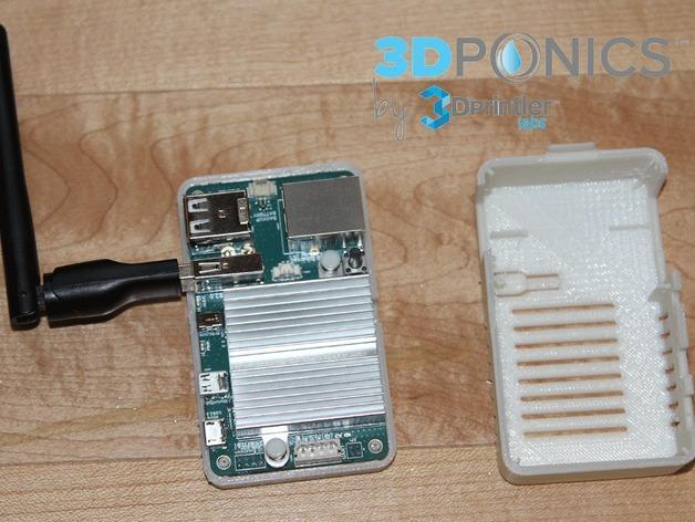 网络连接Odroid U3盒外壳 3D模型  图4