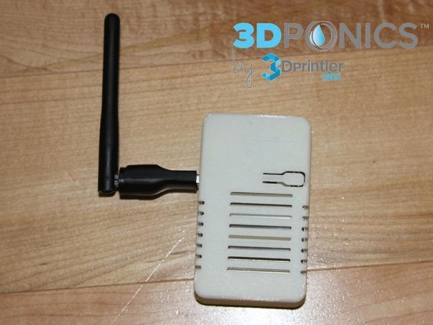 网络连接Odroid U3盒外壳 3D模型  图6