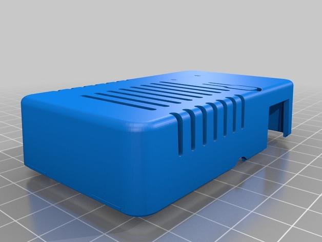网络连接Odroid U3盒外壳 3D模型  图8