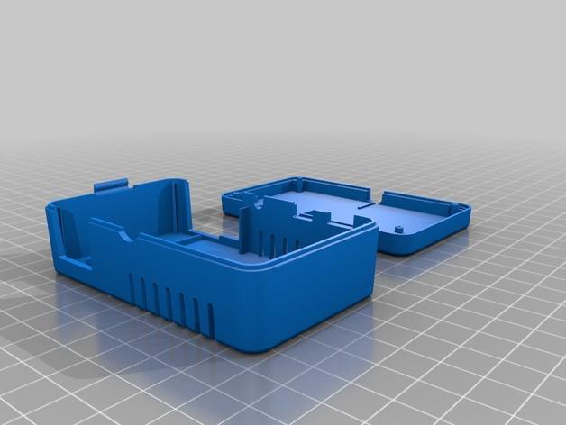 网络连接Odroid U3盒外壳 3D模型  图7