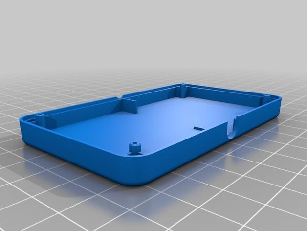 网络连接Odroid U3盒外壳 3D模型  图9